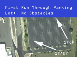 Run 1 With Dexter Industries GPS