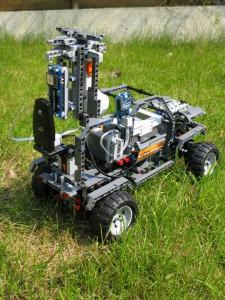 Lego Streetview Car
