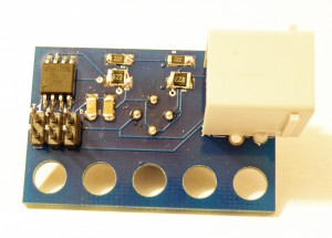 Thermal Infrared Sensor - Backside of the Sensor