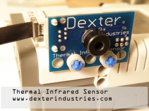 Thermal Infrared Sensor for Lego Mindstorms NXT from Dexter Industries