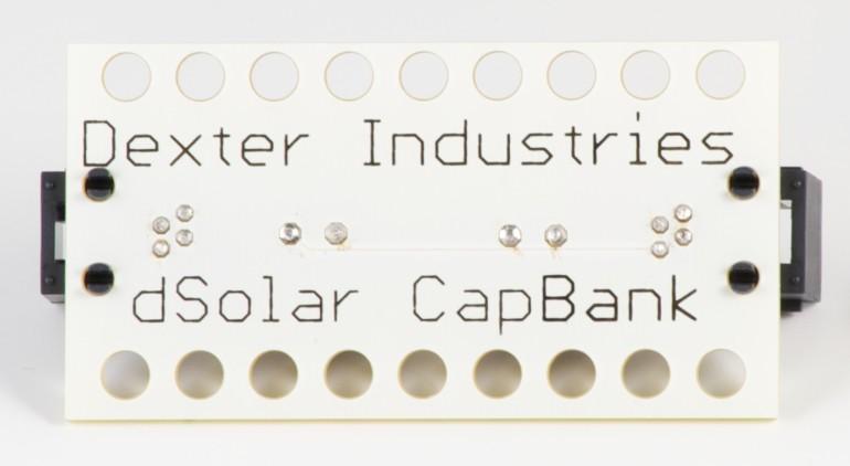 Dexter Industries Sensors for LEGO Mindstorms NXT - dSolar CapBank