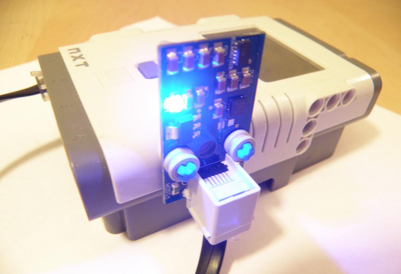 The Dexter Industries Mindstorms NXT Gyroscope and Accerlerometer Sensor