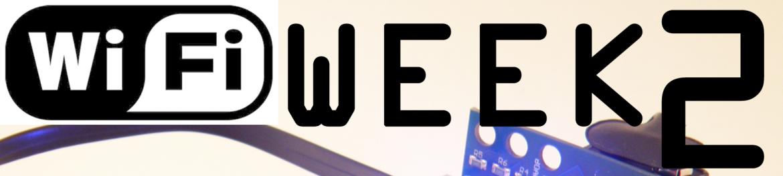 WIFI Week 2 Header WIFI FOR LEGO MINDSTORMS NXT