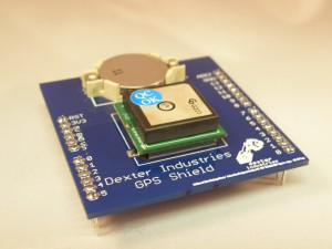 GPS Shield for Arduino is here, now convert some coordinates