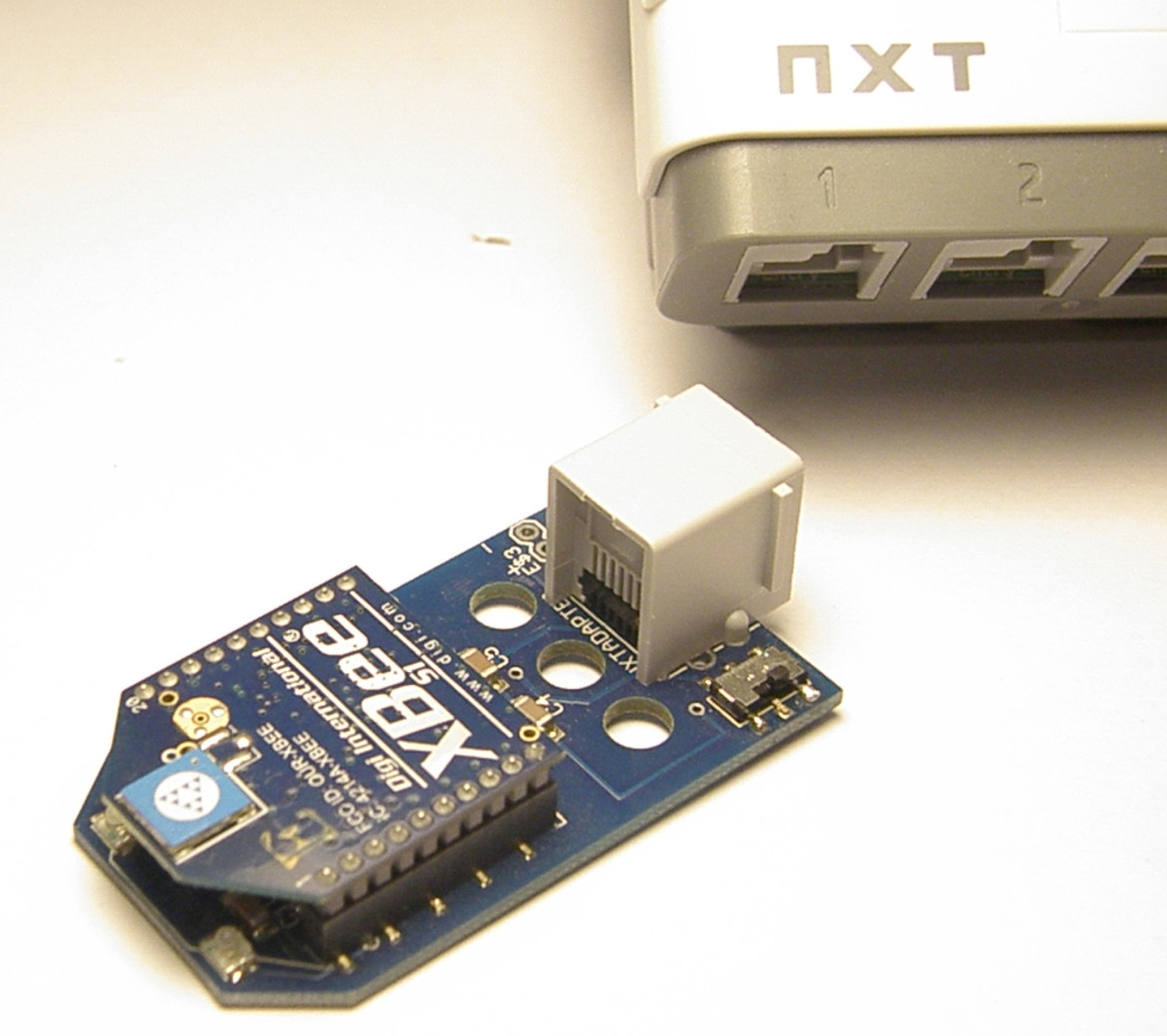 The NXTBee now with Labview for LEGO MINDSTORMS
