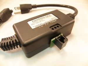 Step 4: The Fully Assembled Powerswitch Tail. Note the female port is pointing upwards, towards the label.