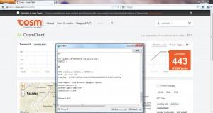 Cosm Client Output