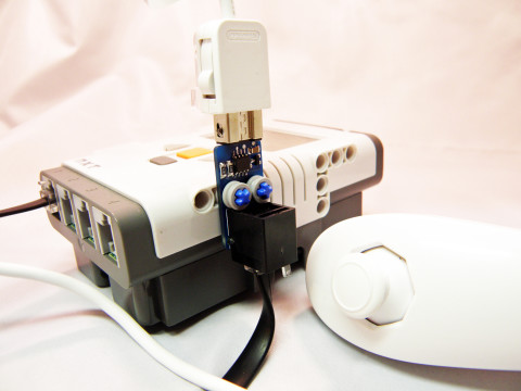 NXTChuck Wii Adapter for LEGO MINDSTORMS