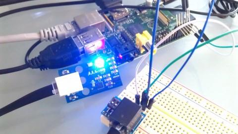 Raspberry Pi and LEGO MINDSTORMS Sensor