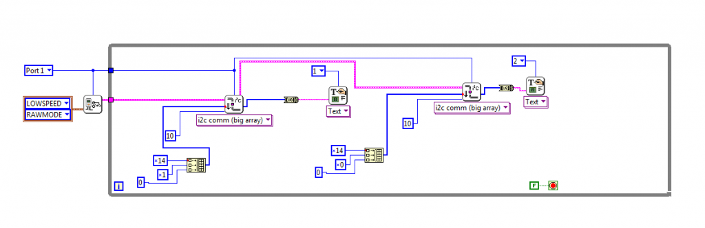 labview for LEGO MINDSTORMS and Arduino