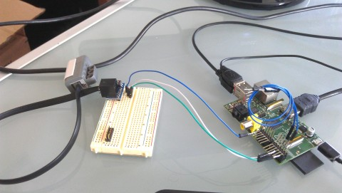 LEGO MINDSTORMS and the Raspberry Pi