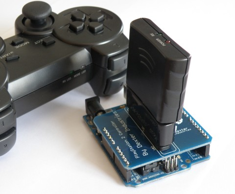 Playstation 2 Shield for Arduino
