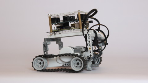 BrickPi on Tracks
