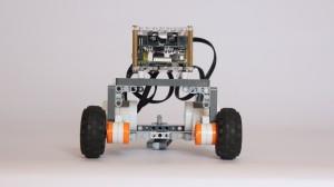 BrickPi robot.