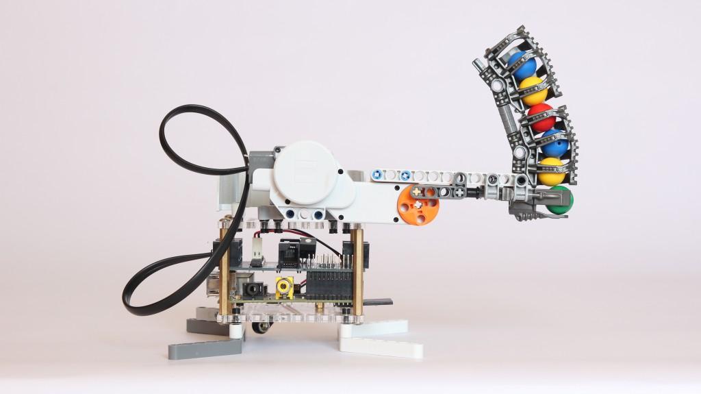 Raspberry Pi Robot Shooter