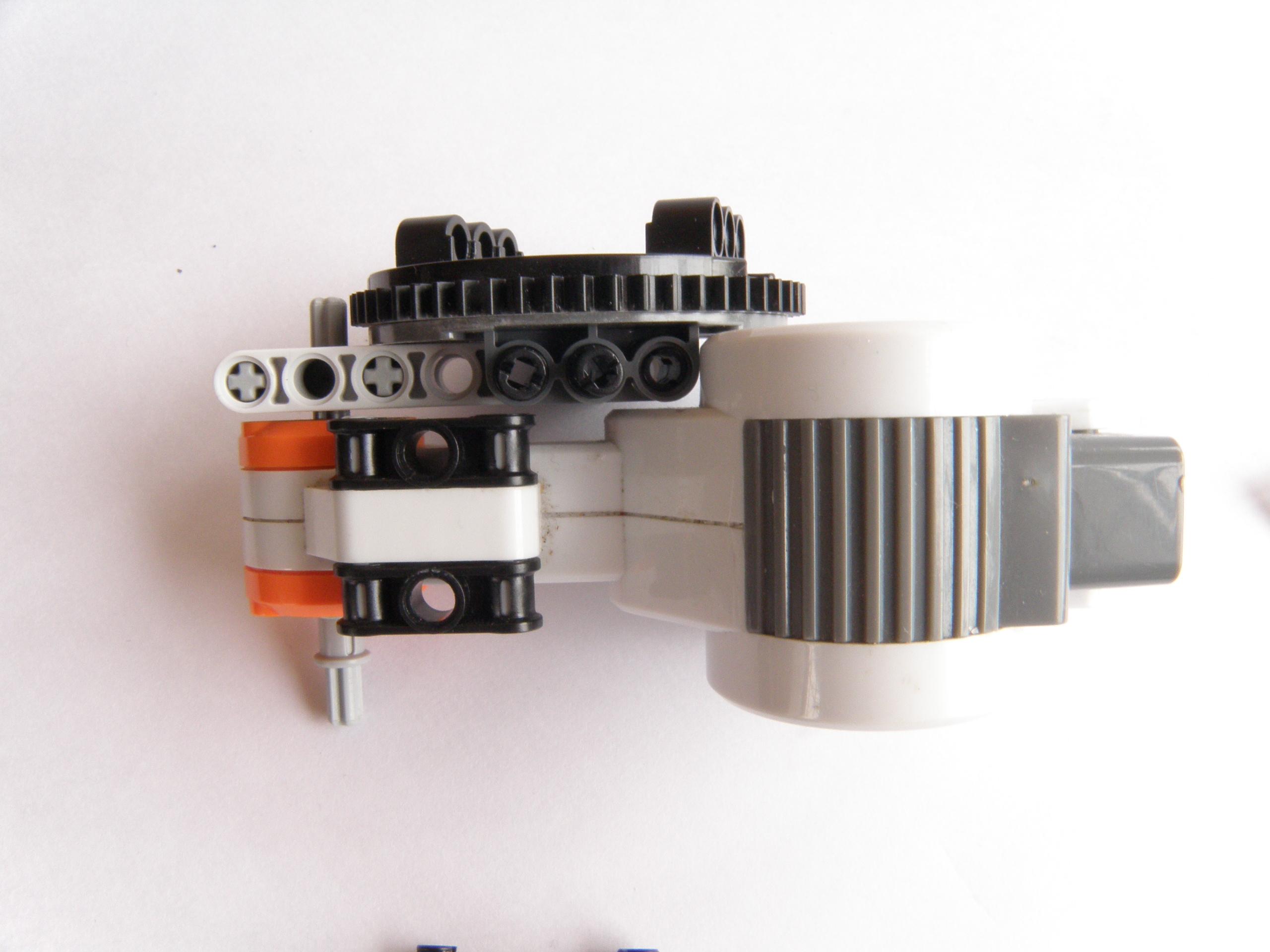 lego mindstorms robotic arm building instructions