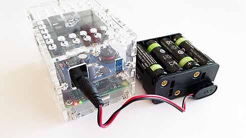 BrickPi Power For Raspberry Pi Robots