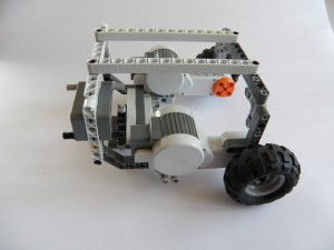 BrickPi Wifi Car Buildi ng Instructions