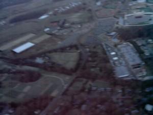 Blacksburg from Above