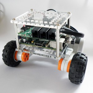 SimpleBot: Easy to Build Robot with the Raspberry Pi