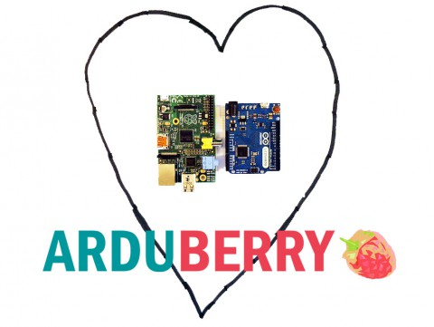 Arduberry Unites the Raspberry Pi and Arduino.