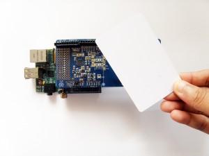 Raspberry Pi and NFC Shield