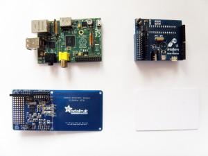 Raspberry Pi and Near Field Communication Shield