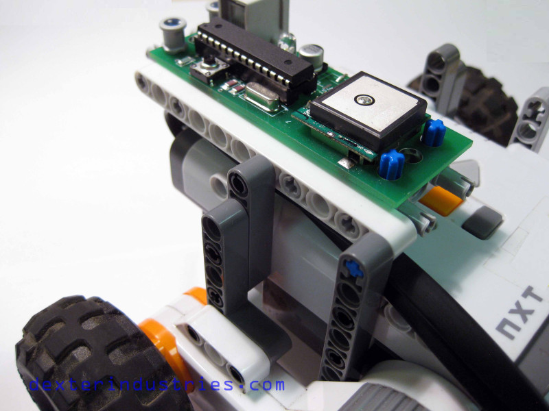 10 Minute GPS Guided LEGO Robot