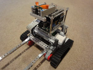 Raspberry Pi robot for streaming Video