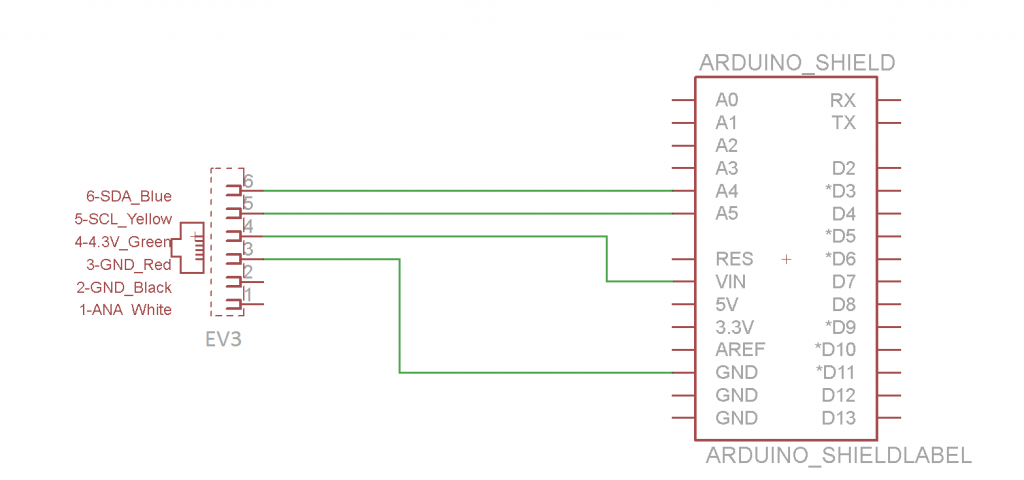 Arduino-and-NXT-Schematic