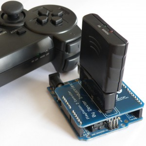 The Arduino Playstation DualShock Shield