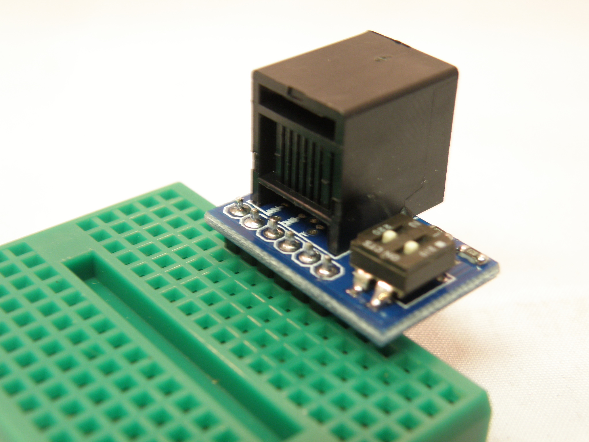 Breadboard Adapter and Breakout for the LEGO Mindstorms NXT