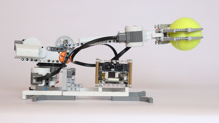 BrickPi and the APL Picker Robotic Arm Model