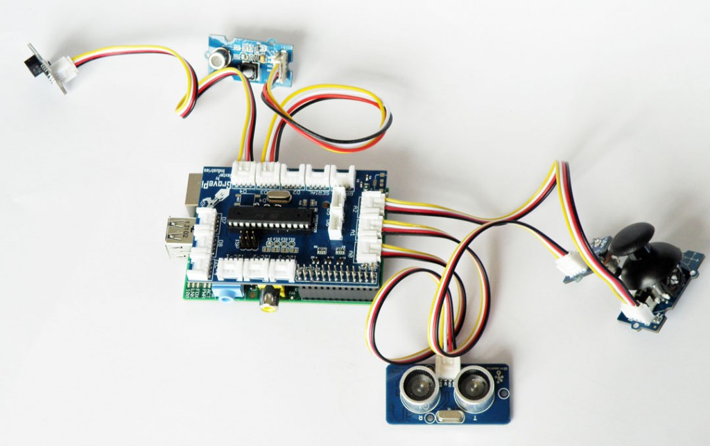 GrovePi for Raspberry Pi and Grove Sensors