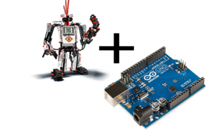 Connect the Lego EV3 and Arduino