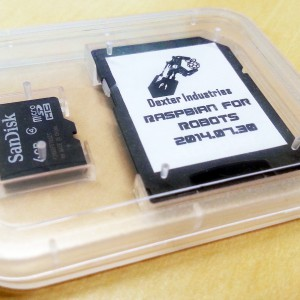 Raspbian for Robots Micro SD Card for the Raspberry Pi (2)