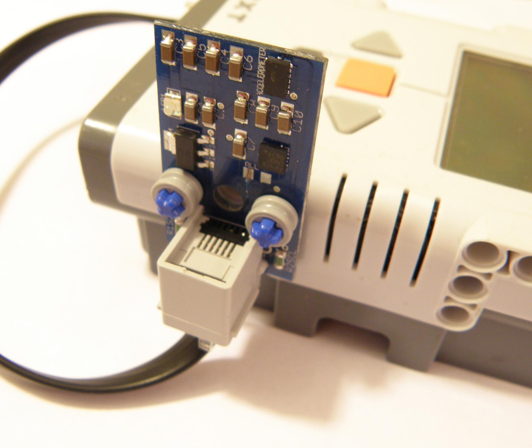 dIMU: Inertial Motion Sensor LEGO MINDSTORMS NXT EV3