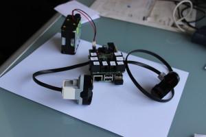BrickPi and the Raspberry Pi Model B+
