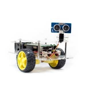 GoPiGo with Servo and Ultrasonic facing right