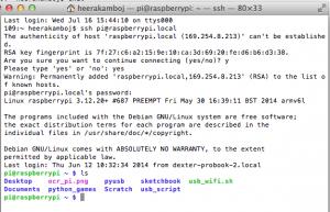 Mac SSH into a Raspberry Pi
