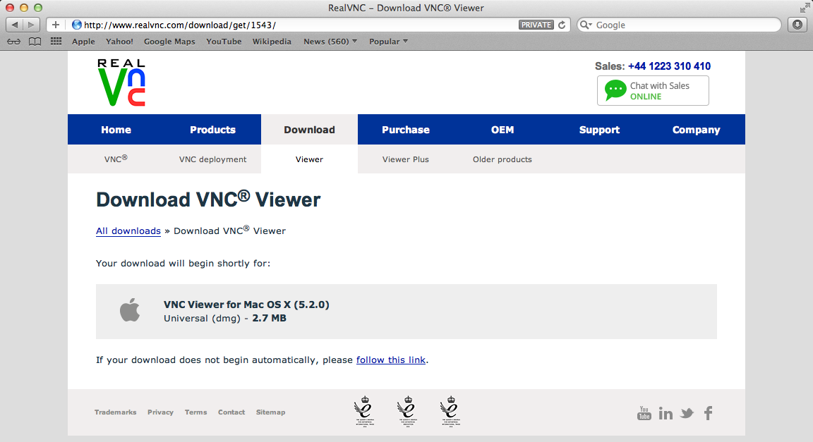 Download the Latest of VNC Viewer