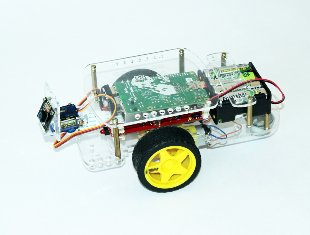 How to Basic Robot Control with the Raspberry Pi