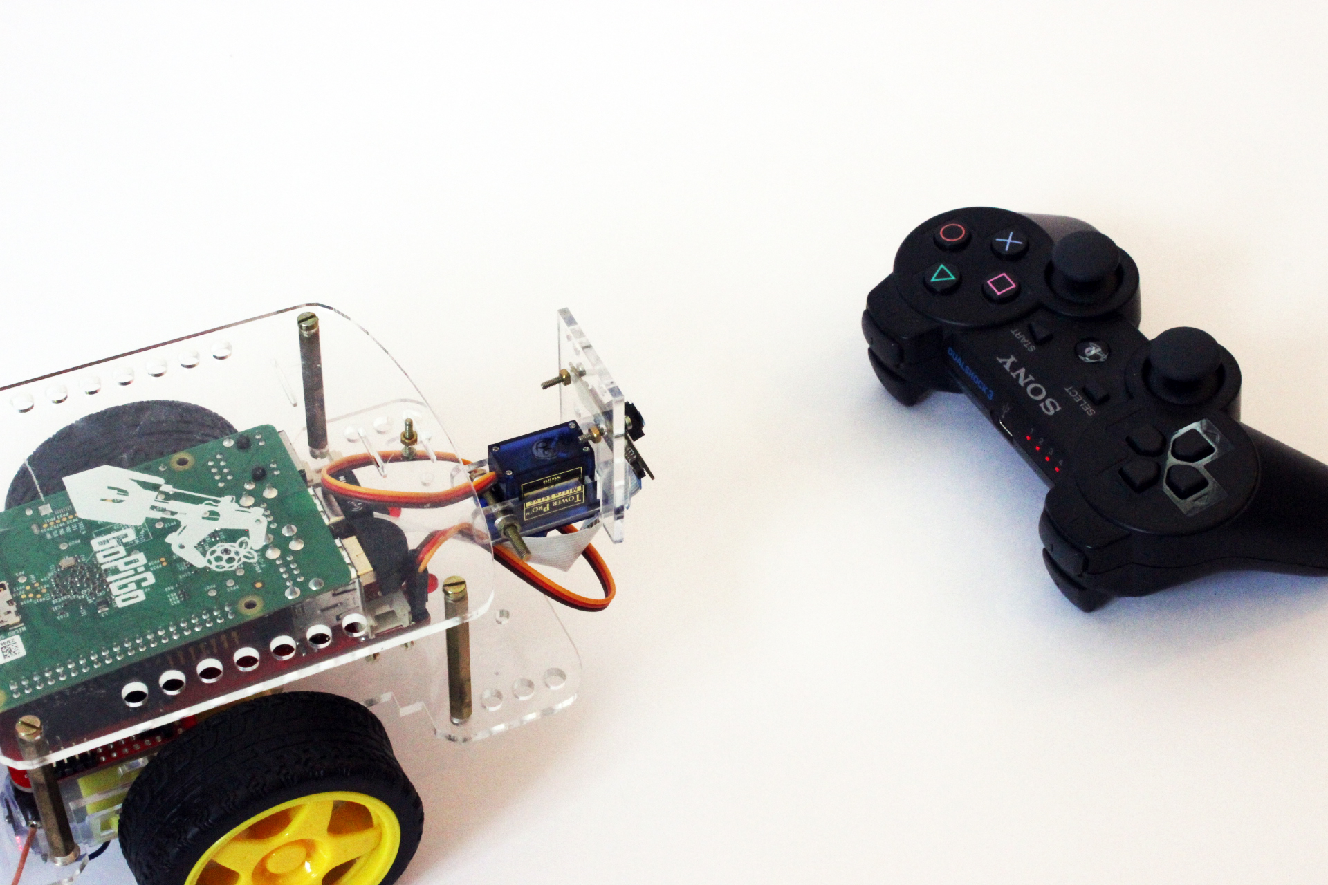 Raspberry Pi PS3 Control with GoPiGo