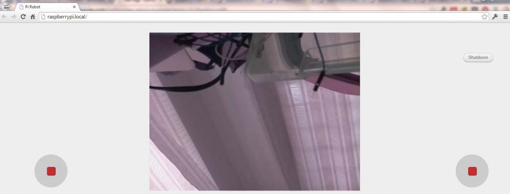 Browser streaming using the Raspberry Pi camera and the GoPiGo