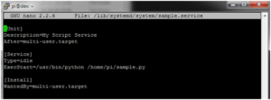 Configure systemd Run a Program On Your Raspberry Pi At Startup