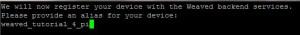 3 - Installing Weaved on the Raspberry Pi