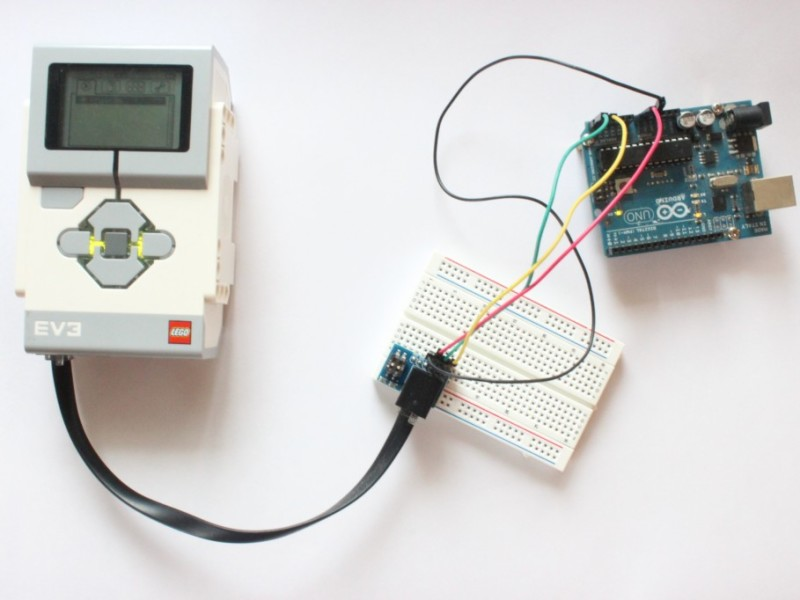 Connect LEGO Mindstorms and the Arduino