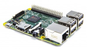 Raspberry Pi 2 courtesy of the Raspberry Pi Foundation