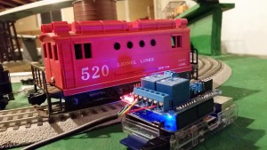 Controlling Lionel Trains with the Raspberry Pi