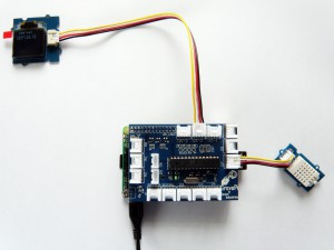 GrovePi Weather Station